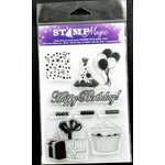 Paper Wizard - Stamp Magic Collection - Clear Acrylic Stamps - Birthday Best