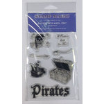 Paper Wizard - Clear Acrylic Stamp Set - Pirate