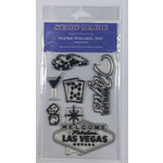 Paper Wizard - Clear Acrylic Stamp Set - Las Vegas