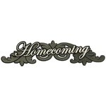 Paper Wizard - Special Occasions Collection - Die Cuts - Homecoming Title 2013