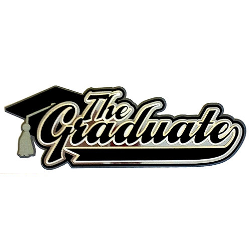 Paper Wizard - Graduation Collection - The Graduate Title