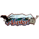 Paper Wizard - National Parks Collection - Die Cuts - Alaska