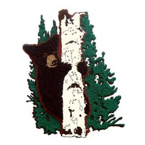 Paper Wizard - National Parks Collection - Die Cuts - Bear in Tree