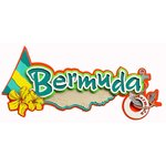 Paper Wizard - Island Paradise Collection - Die Cuts - Bermuda Title
