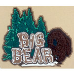 Paper Wizard - Great Smokey Mountains Collection - Die Cuts - Big Bear Kit