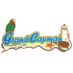 Paper Wizard - Island Paradise Collection - Die Cuts - Grand Cayman