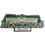 Paper Wizard - Die Cuts - Mackinac Island Title
