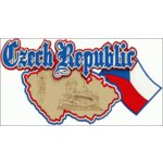 Paper Wizard - Country Maps Collection - Die Cuts - Map of Czech Republic