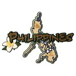 Paper Wizard - Country Maps Collection - Die Cuts - Map of The Philippines