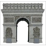 Paper Wizard - Die Cuts - Paris - Arc de Triomphe