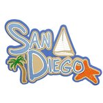 Paper Wizard - Beach City, USA Collection - Die Cuts - San Diego Title