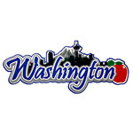 Paper Wizard - Die Cuts - State Title - Washington State Title