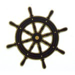 Paper Wizard - Island Paradise Collection - Die Cuts - Ship's Wheel