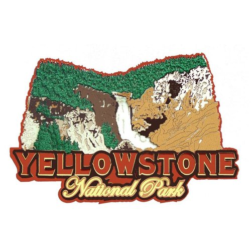 Paper Wizard - National Parks Collection - Die Cuts - Yellowstone