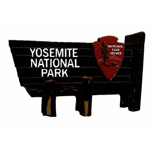 Paper Wizard - National Parks Collection - Die Cuts - Yosemite Sign