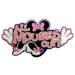 Paper Wizard - Disney - Die Cuts - All Moused Out - Pink