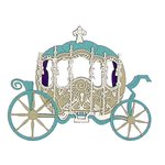 Paper Wizard - Disney - Die Cuts - Princess Carriage