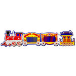 Paper Wizard - Theme Park Collection - Die Cuts - Circus Train