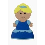 Paper Wizard - Petite Princess Collection - Die Cuts - Petite Princess - Cinder