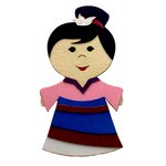 Paper Wizard - Petite Princess Collection - Die Cuts - China Princess