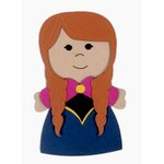 Paper Wizard - Petite Princess Collection - Die Cuts - Petite Princess - Ice Princess