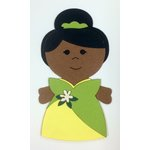 Paper Wizard - Petite Princess Collection - Die Cuts - Petite Princess - Pond