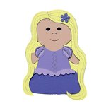 Paper Wizard - Petite Princess Collection - Die Cuts - Tower Princess