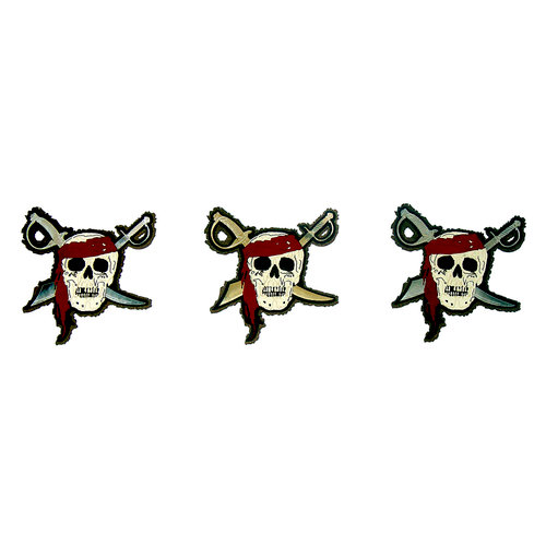 Paper Wizard - Pirates Collection - Die Cuts - Pirate Minis