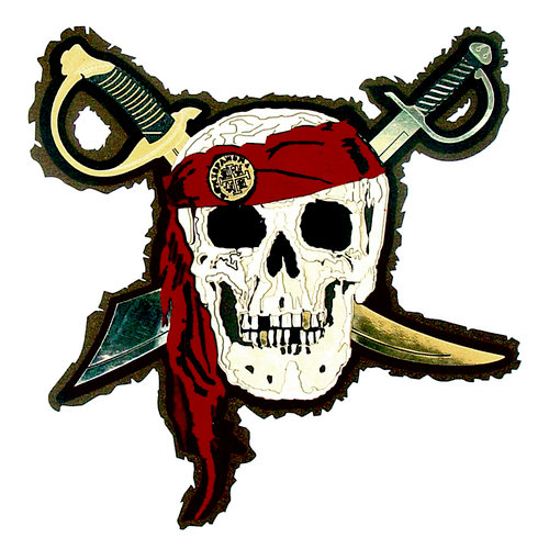 Paper Wizard - Pirates Collection - Die Cuts - Pirates Skull
