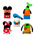 Paper Wizard - Die Cuts - Cartoon Tags