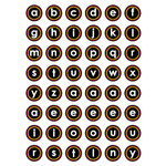 Queen and Company - Magic Millennium Collection - Disney - Cardstock Stickers - Alphabet - Magic