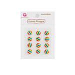 Queen and Company - Candy Shoppe Collection - Self Adhesive Jawbreakers - Rainbow