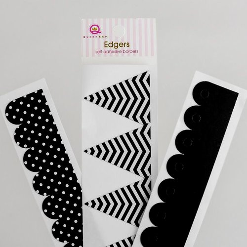 Queen and Company - Self Adhesive Edgers - Licorice