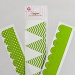 Queen and Company - Self Adhesive Edgers - Kiwi Kiss