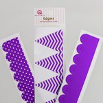 Queen and Company - Self Adhesive Edgers - Grape Ape