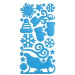 Queen and Company - Epoxy Icons - Winter Wonderland Blue