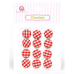 Queen and Company - Checkers - Red