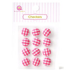 Queen and Company - Checkers - Pink