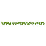 Queen and Company - Self Adhesive Felt Fusion Border - Single Vine - Moss