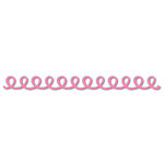Queen and Company - Self Adhesive Felt Fusion Border - Doodle Loop - Hot Pink