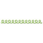 Queen and Company - Self Adhesive Felt Fusion Border - Doodle Loop - Green