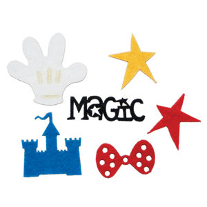 Queen and Company - Magic Millennium Collection - Disney - Felt Frenzy - Felt Pieces - Magic