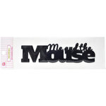 Queen and Company - Magic Collection - Headliners - Self Adhesive Epoxy Title - Me and the Mouse