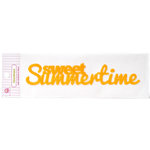 Queen and Company - Headliners - Self Adhesive Epoxy Title - Summer Sweet Summertime