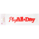 Queen and Company - Headliners - Self Adhesive Epoxy Title - Boy Play All Day