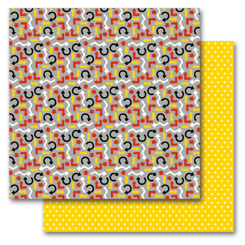Queen and Company - Magic Collection - 12 x 12 Double Sided Paper - Magic Arrows