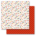 Queen and Company - Magic Collection - 12 x 12 Double Sided Paper - Magic Dot Stars