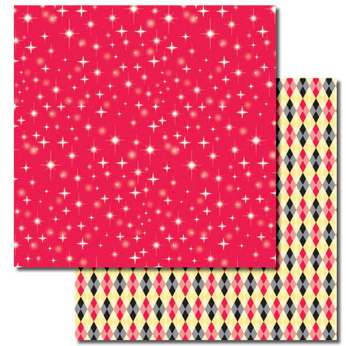 Queen and Company - Magic Millennium Collection - 12 x 12 Double Sided Paper - Twinkle