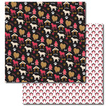 Queen and Company - Pets Collection - 12 x 12 Double Sided Paper - Dog House