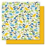 Queen and Company - Summer Fun Collection - 12 x 12 Double Sided Paper - Summertime